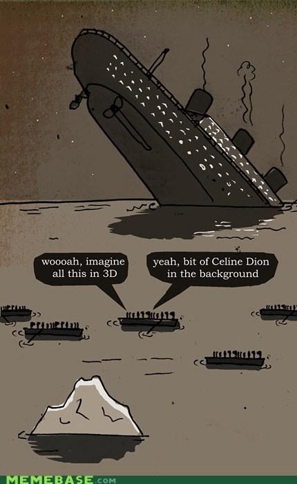 titanic,celine dion,3d,movies