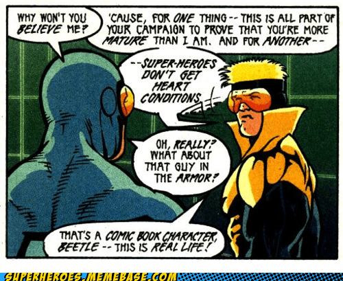 blue beetle booster gold IRL Straight off the Straight off the Page - 6326098432