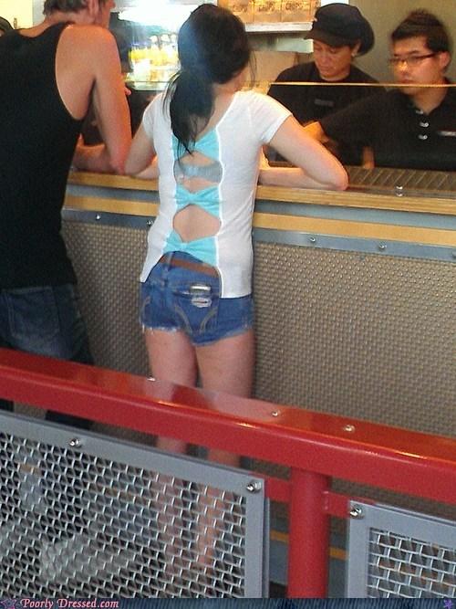 booty shorts bra lady bits underwear whoops - 6326322944