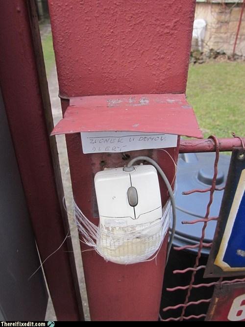 computer desktop doorbell gate mouse - 6326653696