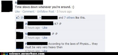 facebook,Gravity,Mass,person,physics,space time