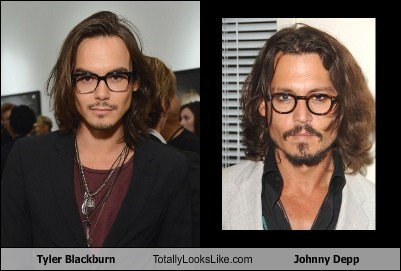 actor celeb funny Johnny Depp TLL tyler blackburn - 6326817280