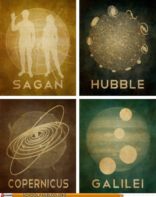 Copernicus,etsy,galilei,hubble,sagan,scientists