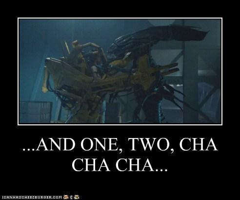 alien queen Aliens cha cha cha dance lessons mech suit xenomorphs - 6327333888