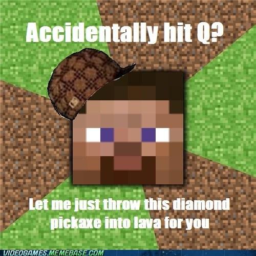 inventory meme minecraft Q scumbag - 6327343872