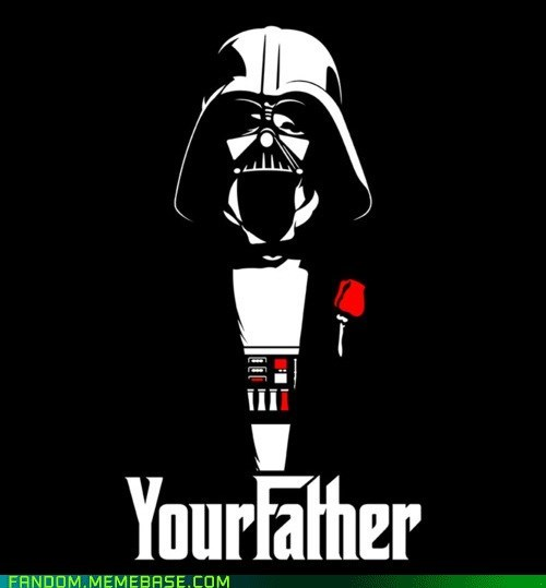 crossover,darth vader,Fan Art,star wars,the godfather
