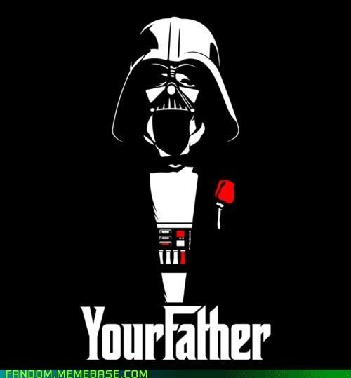 crossover darth vader Fan Art star wars the godfather - 6327386880
