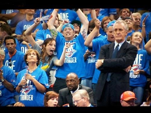 miami heat NBA playoffs oklahoma city thunder pat riley - 6327556864
