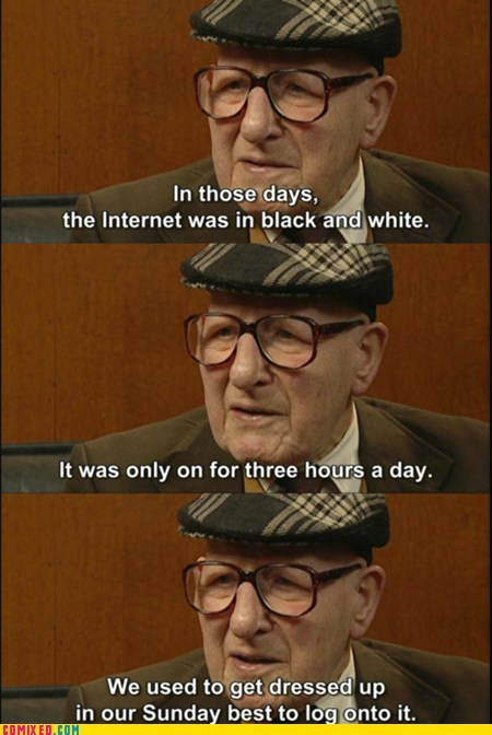 black and white internet old people the internets - 6327725312