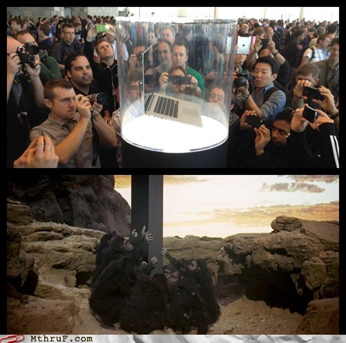 apple laptop mac macbook Planet of the Apes - 6327777024