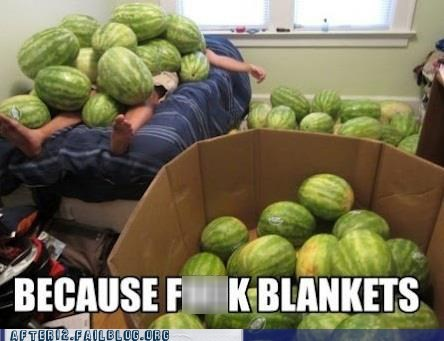 box of watermelons,passed out,watermelon