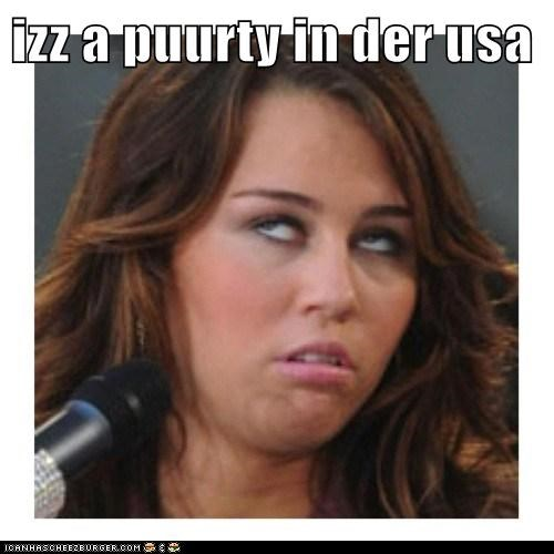derp miley cyrus party in the usa song - 6327983360