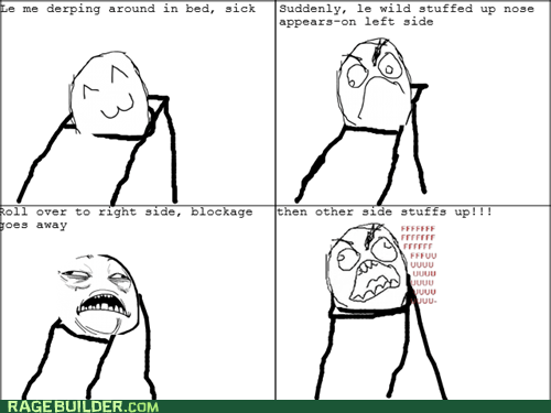 fu guy,Rage Comics,sickness,sweet jesus have mercy