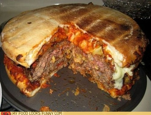 buns burger huge pizza