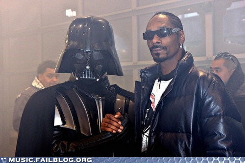 darth vader,hip hop,snoop dogg,star wars