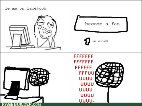 facebook,fan,fu guy,Rage Comics