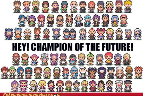 awesome,Champion,crossover,earthbound,sprites,video games