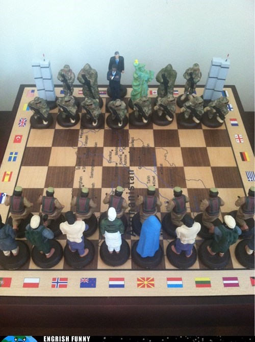 afghanistan,checkmate,chess,playing chess,war on terror