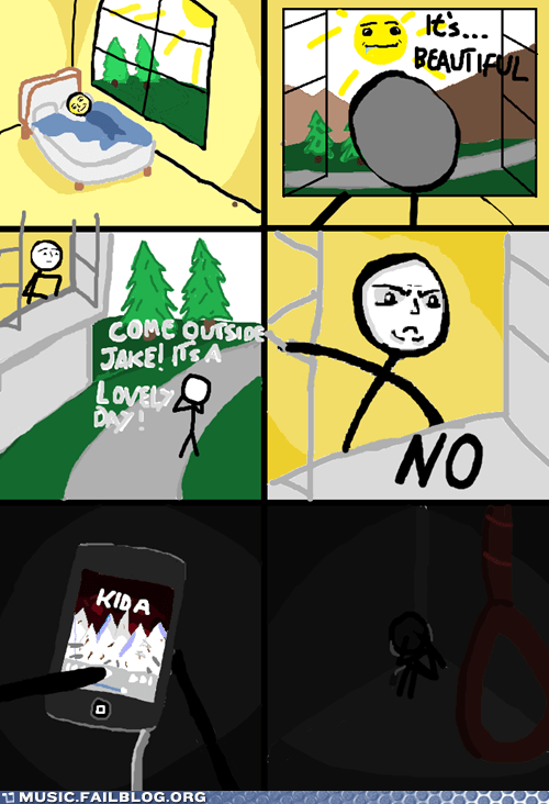 comic depression kid a radiohead suicide - 6328288256