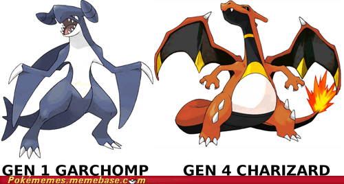 all gens charizard design garchomp technology the internets - 6328338176