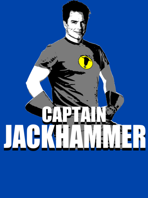 captain hammer,captain jack,crossover,doctor who,Fan Art,Torchwood,whedonverse