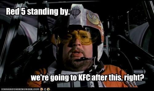 chicken fat hungry kfc Porkins star wars - 6328648704