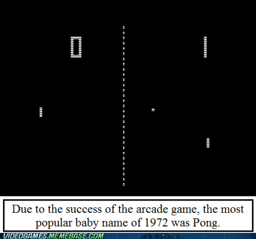 arcade game baby pong the internets true game facts - 6328690176