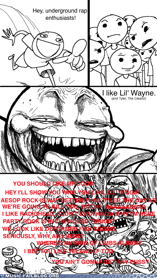 comic elitists hip hop lil wayne Odd Future rap Tyler The Creator - 6328846592