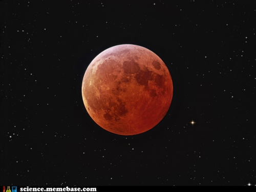 Astronomy eclipse Red Moon reflection - 6329077248