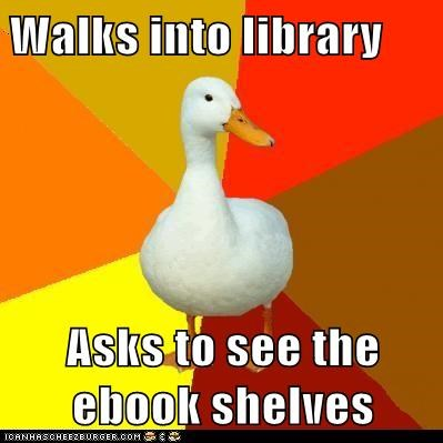 Technologically,Technologically Impaired Duck