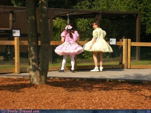 cross dressing dress lolita what zoo - 6329411072