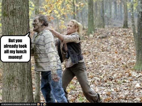 head tree The Walking Dead zombie - 6329560576