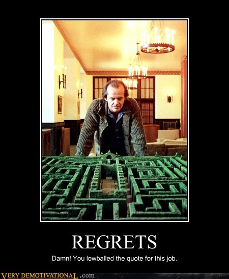 hilarious,job,quote,regret