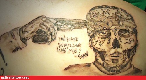 bandanna gun skull - 6329772288