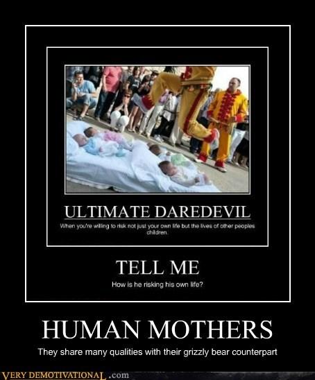 Babies bad idea bears hilarious human mothers - 6330141440