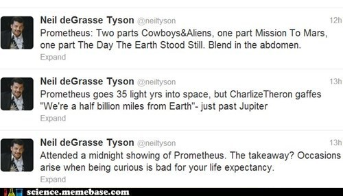Neil deGrasse Tyson,Professors,prometheus