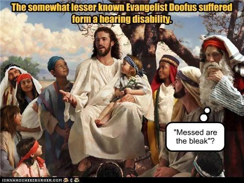 doofus evangelists hearing jesus - 6330595072