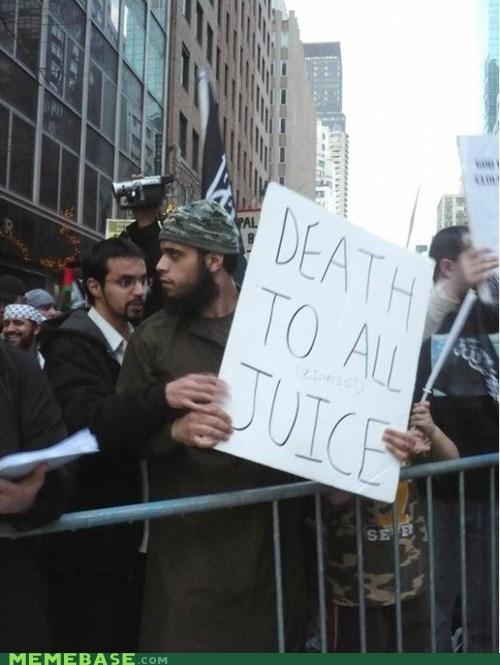 sign IRL Death juice - 6330680064