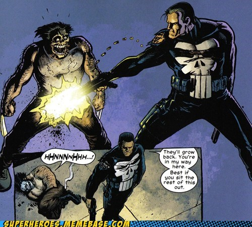 crotch shot no face punisher Straight off the Straight off the Page wolverine - 6330904576