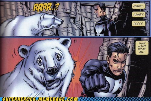 angry peta polar bear punisher Straight off the Straight off the Page - 6330921216