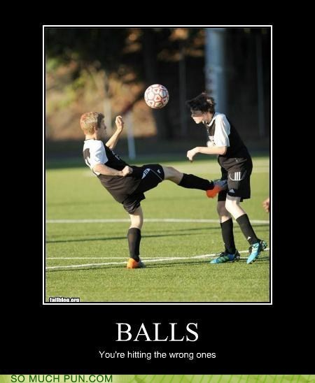 aim balls demotivational FAIL soccer wrong