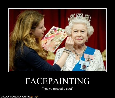 """FACEPAINTING """"You've missed a spot"""""""