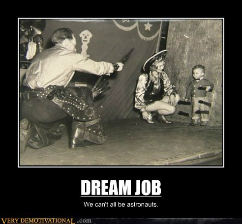 cowboy dream job knife thrower Pure Awesome - 6331207936