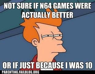 fry meme futurama nintendo video games - 6331281664