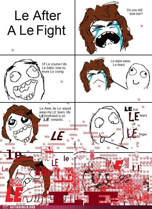fighting,le,le le le,Rage Comics