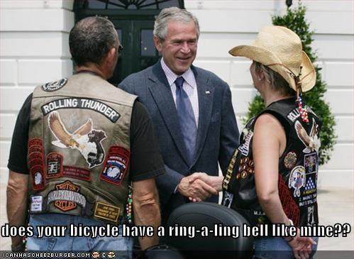 george w bush president Republicans Rolling Thunder veterans - 633151232