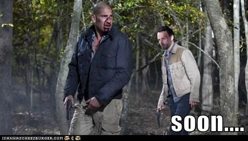 Andrew Lincoln Jon Bernthal killing Rick Grimes SOON The Walking Dead zombie