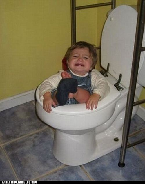 crying in the bathroom stuck toddler toilet - 6331559680