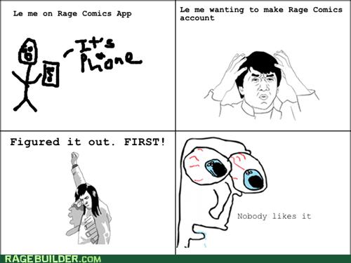 Rage! FIRST!