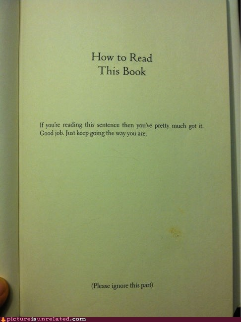 books good job how-to guide reading wtf